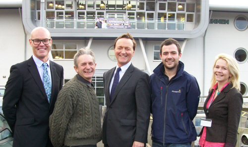 Cornwall Apprenticeships' 300 in 100 Campaign is backed by Andrew George MP