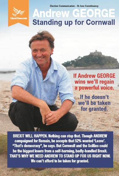 Andrew George 2017 Election - Freepost