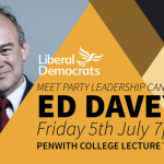 Meet Party Leadership Candidate Ed Davey